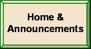Home and Announcements
