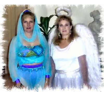 Genie and Angel 2001