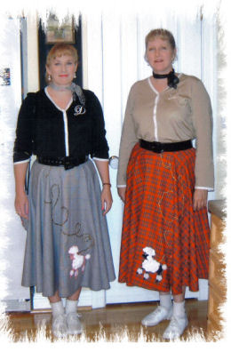 Poodle Skirt Photo 2003